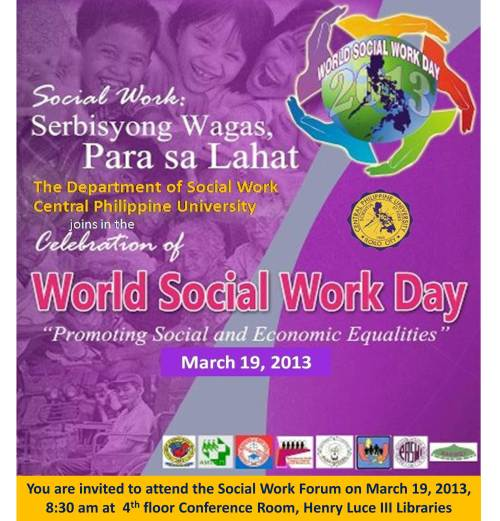 world social work day2013