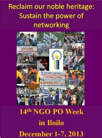 14th NGO PO Week