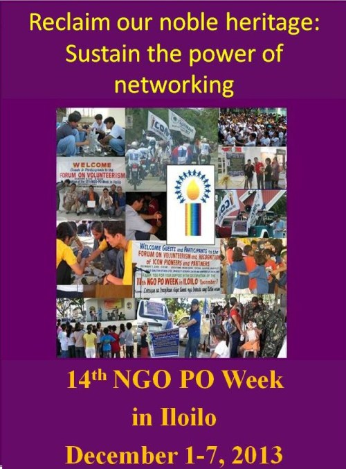 14th NGO PO Week